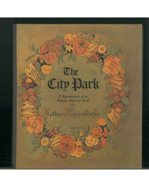 The City Park. A reproduction of an Antique Stand-up Book by Lothar Meggendorfer.